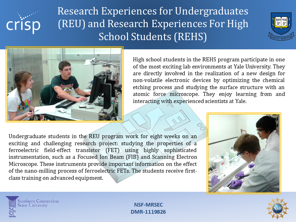 Education Research Highlights From 2015 >> Highlights Center For Research On Interface Structures And